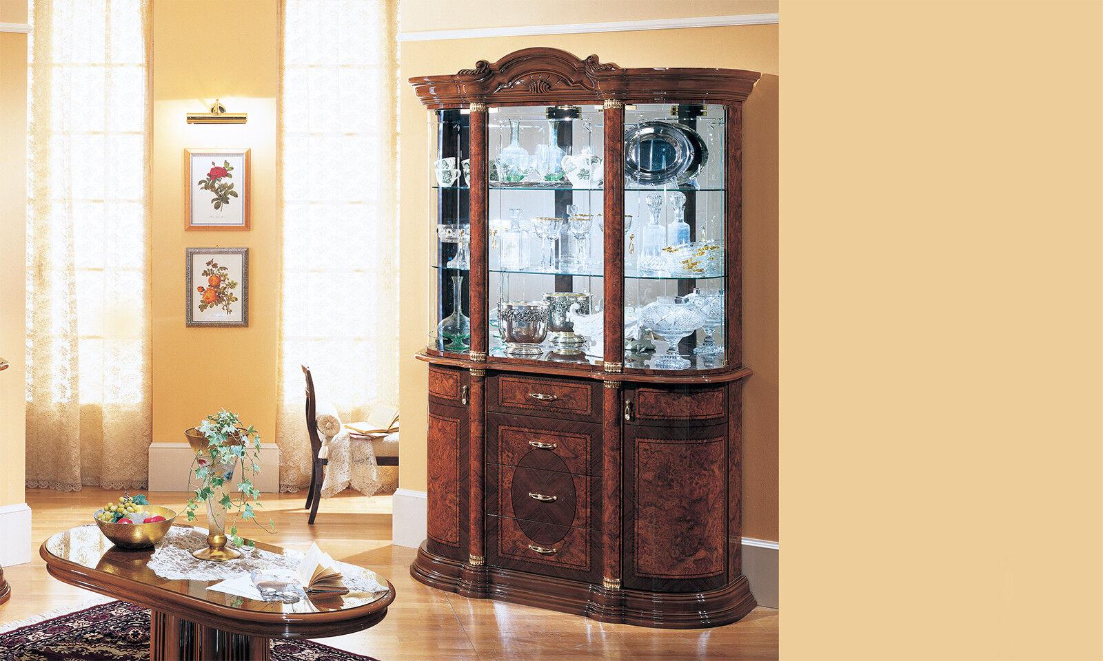 moebel im italienischen stil, wohnzimmerschrank italienischer stil dunkelbraun140cm, Design ideen