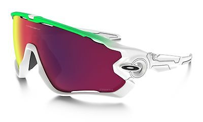 New Oakley Jawbreaker Sunglasses Green Fade Prizm Road Oo9290-15