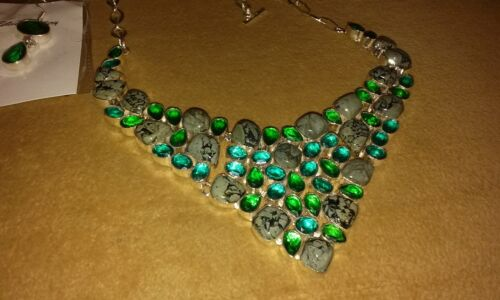Wholesale Necklace &Earring Sets Semi Precious Stone Sets just Gorgeous