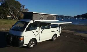 Toyota Hiace Frontline Converted Campervan Sydney City Inner Sydney Preview