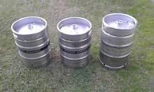3 Empty Beer Kegs Exellent Condition! Mascot Rockdale Area Preview