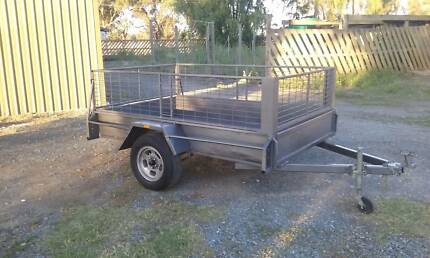 8x5 cage trailer