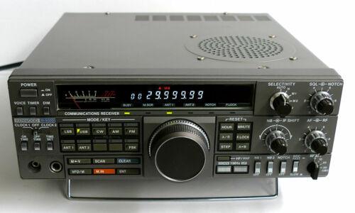 KENWOOD R-5000 MW SHORTWAVE SSB RADIO w/ YK-88A-1 AM FILTER + DOCUMENTS EXC+