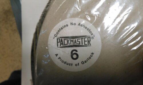 "GARLOCK PACKMASTER 6, 1-1/4"" COMPRESSION PACKING"