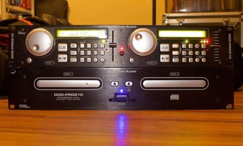 AMERICAN AUDIO DCD-PRO310 DUAL CD PLAYER