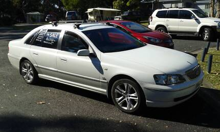 2004 Ford Fairlane Sedan Sawtell Coffs Harbour City Preview