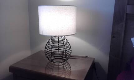 Two Matching Bedside/Table Lamps VGC