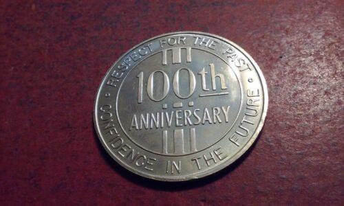"""Token Centennial Coin 1968 CLAYTON North Carolina """"Respect for The Past"""""""
