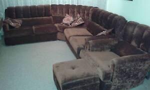 6 Seater modular high-back  lounge Cambridge Park Penrith Area Preview