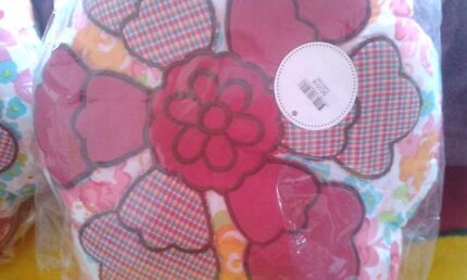 FLOWER CUSHIONS  !! BRAND NEW Macquarie Fields Campbelltown Area Preview