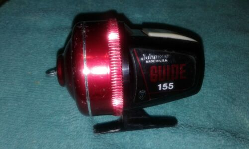 Johnson Guide Model 155 Accu-cast Spincasting FISHING REEL USA