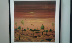 Painting called the north fence Baldivis Rockingham Area Preview