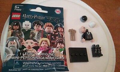 LEGO HARRY POTTER FANTASTIC BEBEASTS MINIFIGURE PERCIVAL GRAVES RARE NEW #71022