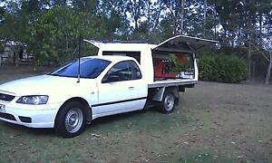 2006 Ford Falcon Ute with Bussiness attached Coffee Ute Redbank Plains Ipswich City Preview