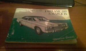 ford fairlane 500 and marquis maintenance schedule book vgc Beerwah Caloundra Area Preview