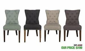 VICTORIA WINGBACK CHAIRS AVAILABLE IN THREE DIFFERENT COLOURS