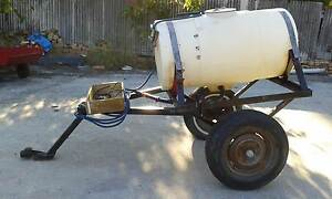 CHEMICAL SPRAY TANK 300 LITRES WITH 12 VOLT PUMP & TRAILER Belmont Brisbane South East Preview