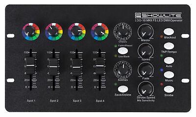 B-WARE DMX Controller 16 Kanäle Konsole LED Bühnenlicht Licht DJ Lichtsteuerung