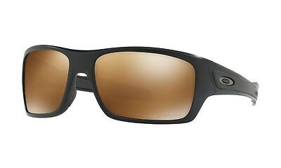 OAKLEY TURBINE SUNGLASSES | MATTE BLACK / PRIZM TUNGSTEN POLARIZED | 9263-4063 for sale  Shipping to India