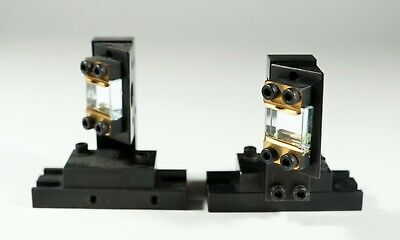 Two High Quality 90 Degree Laser Beam Mirrors On Mounting Base