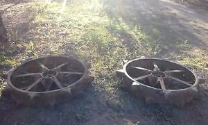 Steel tractor wheels Laidley Lockyer Valley Preview