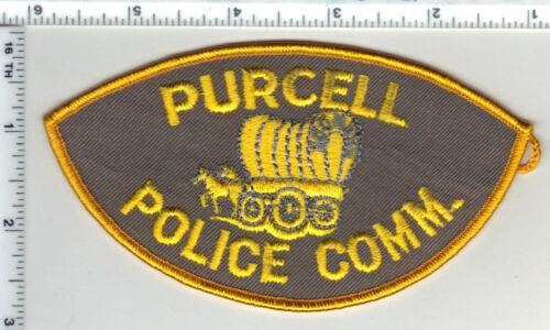Purcell Police Communications (Oklahoma) Shoulder Patch from the 1980