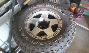 Mag wheels 16x7 off bt50 Cairns Cairns City Preview