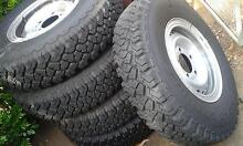 Toyota tyres and steel rims 5 Wellington Point Redland Area Preview