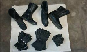 Motorcycle Gear Boots & Gloves Toormina Coffs Harbour City Preview