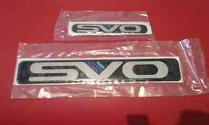 FORD SVO (ORIGINAL) BADGES South Melbourne Port Phillip Preview