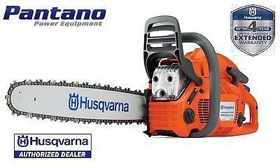 "New Husqvarna 455 Rancher 20"" 56cc Gas Chain Saw Authorized Dealer  on Rummage"