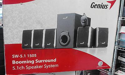Genius SW-5.1 1505 Booming Surround 5.1ch Speaker System segunda mano  Embacar hacia Spain