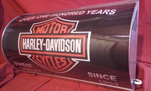 Harley Davidson,illuminated,classic,display,mancave,garage,light up,automobilia