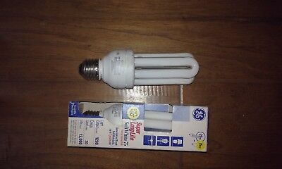 Life Fluorescent Bulb (2 GE SUPER LONG LIFE  FLUORESCENT ENERGY SAVING AVERAGE LIFE 12.000 HRS 75W BULB )