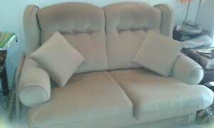 Velour 2 Seater and 2 chairs Bundall Gold Coast City Preview