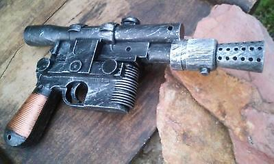Han Solo Blaster (Han Solo Blaster DL-44 Electronic Sound Custom Painted Star Wars Cosplay)