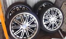 20inch lenzo alloys/tyres...98% tread..excellent con..suit holden Griffith Griffith Area Preview