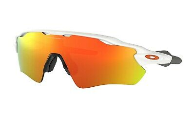 Oakley OO9208-7238 Men's Radar Ev Path Non-Polarized Iridium Shield White/Red