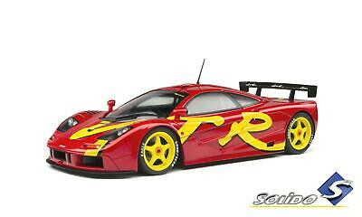 New Solido 1:18 1996 McLaren F1 GTR Short Tail Launch Livery, Red S1804102