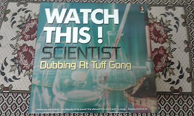 Watch This ! Scientist Dubbing At Tuff Gong , New LP ,Jamaican Recordings.