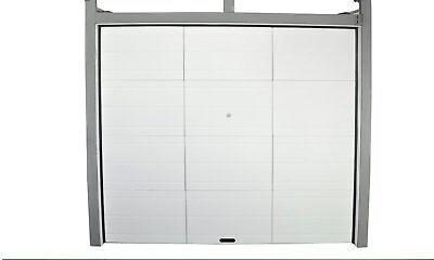 Garagentor Garagentore Tor Sektionaltor Grauweißlich 250 x 212 x 4 cm 140336