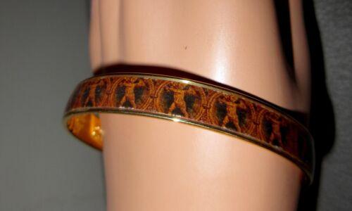 MMA Cherub Angel Bangle Bracelet Metropolitan Museum 22K GP Love Retired --Mint!