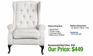 WING CHAIRS & SOFAS - up to 80% OFF RRP Leumeah Campbelltown Area Preview