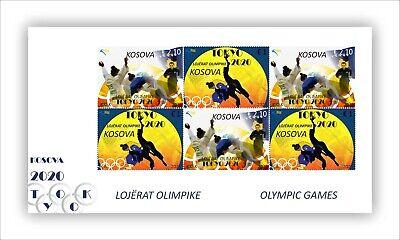 Kosovo Stamps 2021. Olympic Games: Tokyo 2020. Mini Sheet MNH