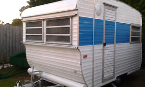 Little retro ' York  Caravan' handy at only 10ft also has Annexe. Hastings Mornington Peninsula Preview