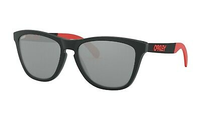 Oakley Frogskins Sunglasses Marc Marquez Replica Matte Black Ink Prizm Black