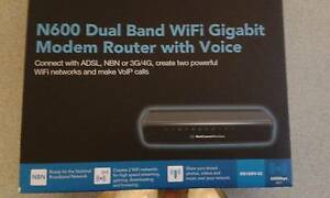 N600 Dual Band WiFi Modem Router with Voice for $30 Bunbury Bunbury Area Preview