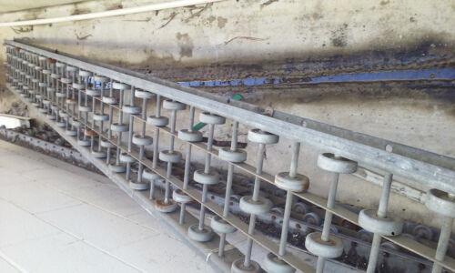 2 Rapistan Rapid-Wheel 10ft Conveyors
