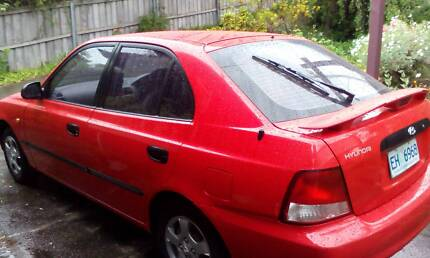 Hyundai Accent 2000 Lindisfarne Clarence Area Preview