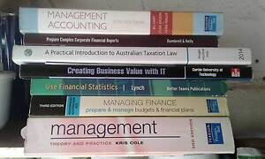 Still selling Good Finance and Accounting Text Books cheap as! Rivervale Belmont Area Preview